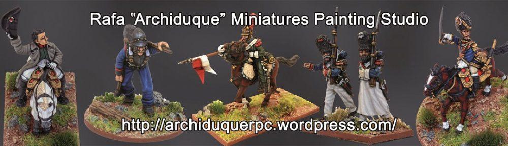"""Rafa """" Archiduque """" Miniatures Painting Studio"""